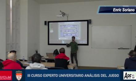 Contexto del análisis del juego – Enric Soriano