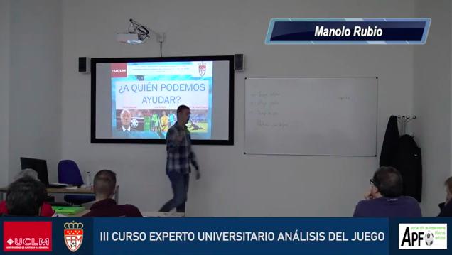 Análisis de juego desde el portero – Manolo Rubio