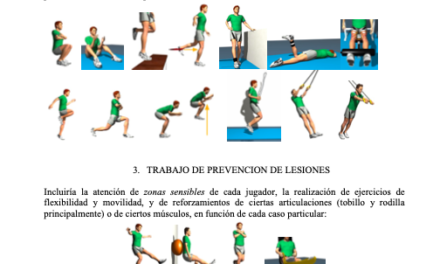 Recomendaciones APF – Luis Casáis (Vocal de la junta directiva APF)