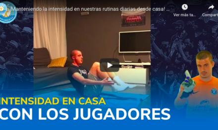 Rutinas de entrenamiento – Alejandro Prieto – U.D. Ibiza