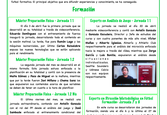 Newsletter Nº14 Abril 2020