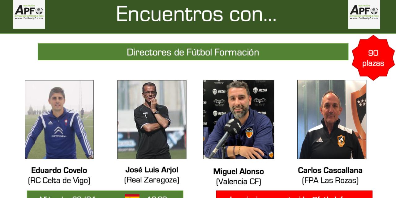 Jornada completa Encuentros con…Directores de Fútbol Formación