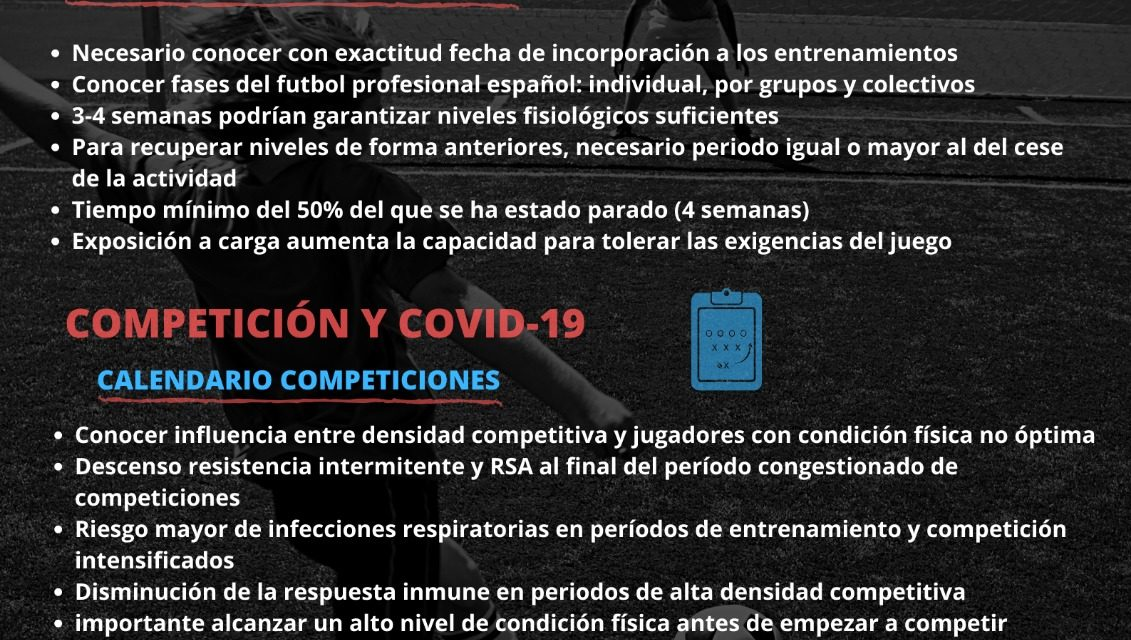 Infografía Entrenamiento Revista Especial (Estudio Covid19)