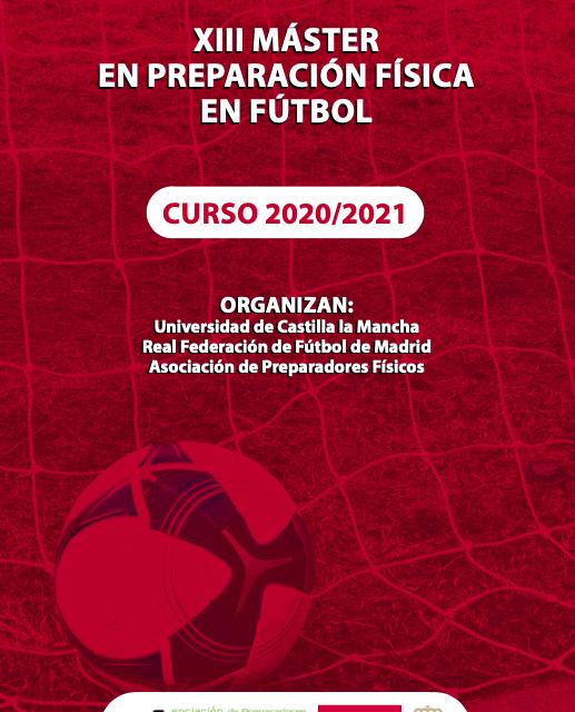 XIII Máster de Preparación Física en el Fútbol