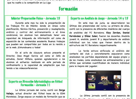 Newsletter Nº16 Junio 2020