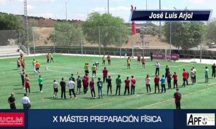 """Vídeo resumen """"Práctica resistencia fútbol"""" – José Luis Arjol"""