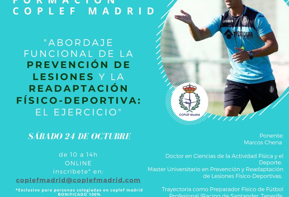 Formación COPLEF Madrid – 24/10
