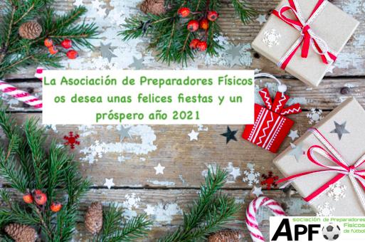 Felices Fiestas y Feliz 2021