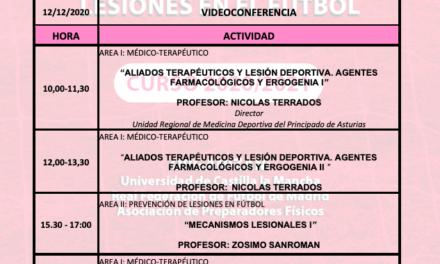 Horario Jornada 5 – IX Máster PRL