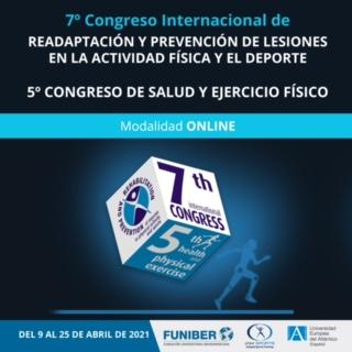 VII Congreso Internacional de Readaptación y Prevención de Lesiones en la Actividad Física y del Deporte