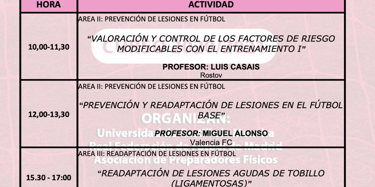 Horario Jornada 7 – IX Máster PRL