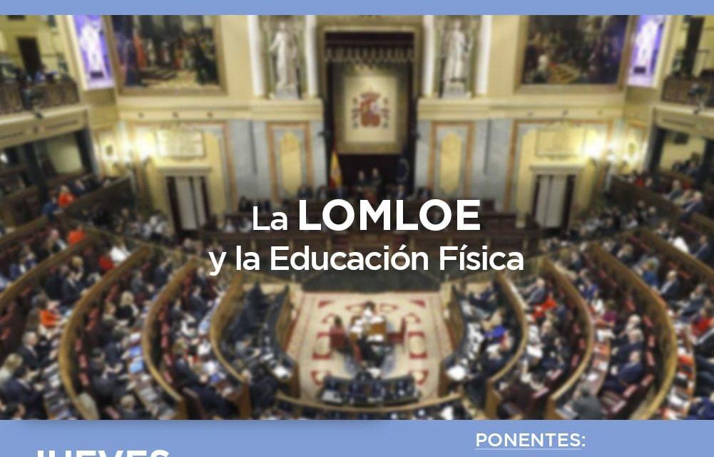 Jornada Informativa: La LOMLOE y la Educación Física