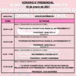 Horario Jornada 6 – IX Máster PRL