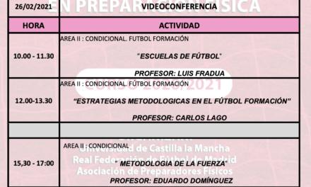 Horario Jornada 9 – XIII Máster PF