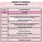 Horario Jornada 10 – IX Máster PRL