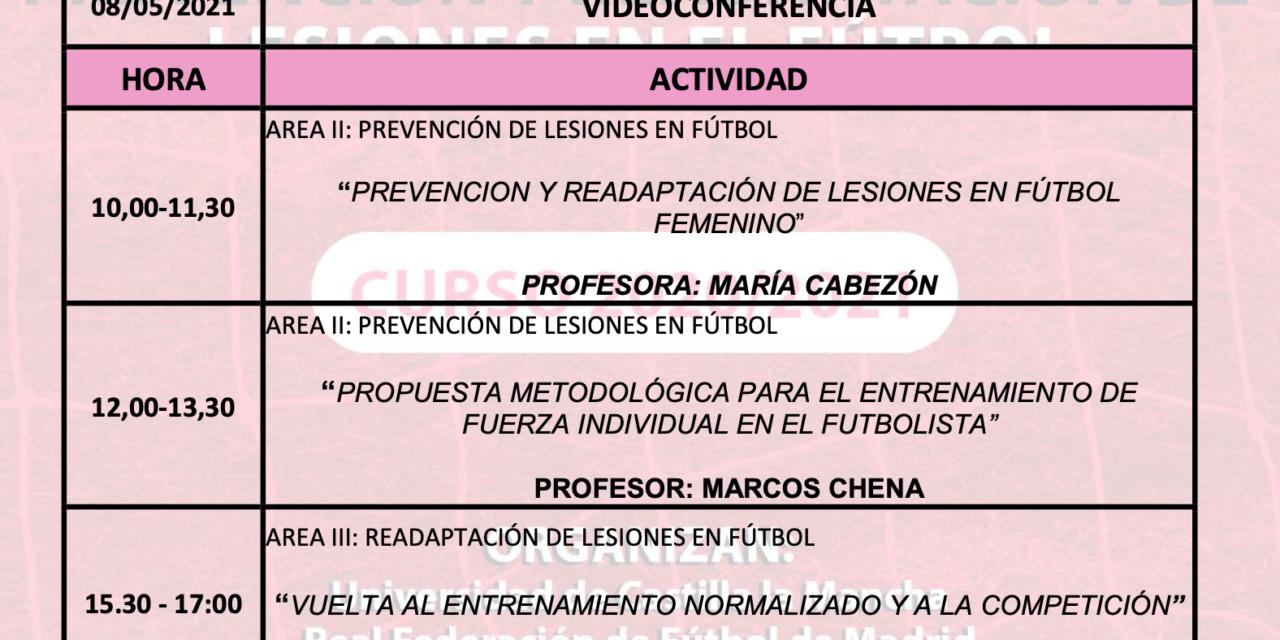 Horario Jornada 13 – IX Máster PRL