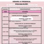Horario Jornada 14 – IX Máster PRL