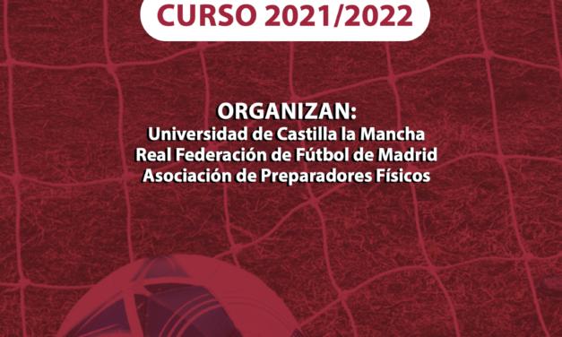 XIV Máster Preparación Física en Fútbol